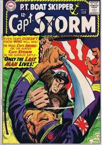 Capt Storm #10 ORIGINAL Vintage 1965 DC Comics