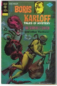BORIS KARLOFF #70, FN, Tales of Mystery, Gold Key, 1963, more Horror in store