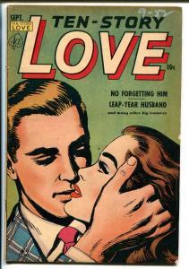 Ten-Story Love Vol. 30 #4 1952-Ace-former pulp-spicy romance art-VG