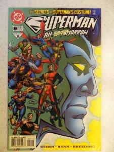 SUPERMAN MAN OF TOMORROW # 9