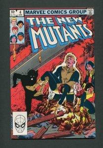 New Mutants #4 / 9.4 NM  June 1983