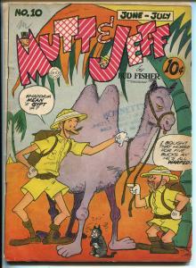 Mutt & Jeff #10 1943-DC-Bud Fisher art-WWII era comic book-VG