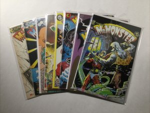Mr. Monster 1 2 3 4 5 6 7 8 Lot Run Set Near Mint- Nm- 9.2 Eclipse Comics