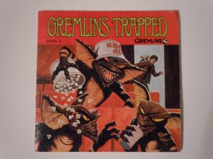 Gremlins-Trapped Read Along Book And Record(1984)