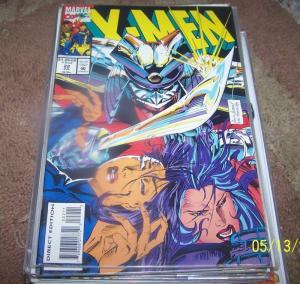 X MEN # 22  1993 MARVEL  psylocke +revanche + betsy braddock CAPTAIN BRITTAIN
