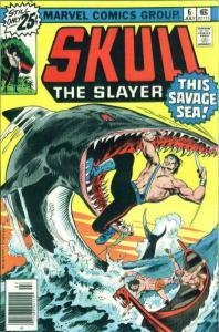 Skull the Slayer #6 FN; Marvel   save on shipping - details inside