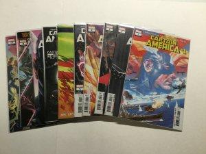 Captain America 1-16 Annual 1 Lot Run Set Near Mint Nm Marvel