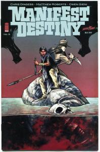 MANIFEST DESTINY #8, NM, 1st print , Lewis Clark trek expedition, Monsters