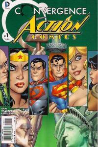 Convergence Action Comics #1, NM (Stock photo)