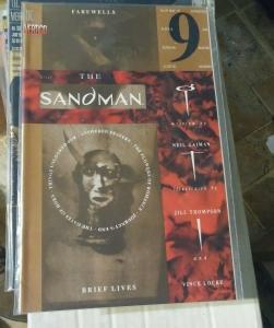 SANDMAN #  49 1993 DC COMICS NEIL GAIMAN   BREIF LIVES PT 9 + THE ENDLESS