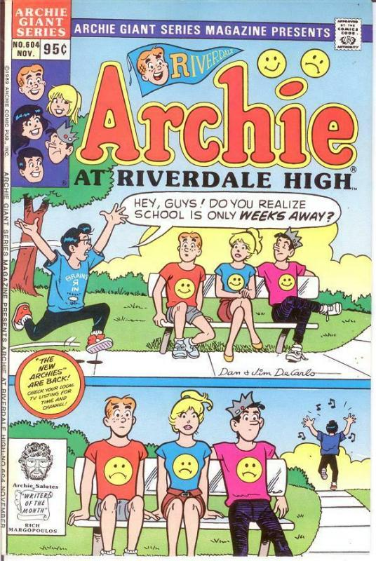 ARCHIE GIANT SERIES (1954-1992)604 VF-NM ARCHIE AT RIVE COMICS BOOK