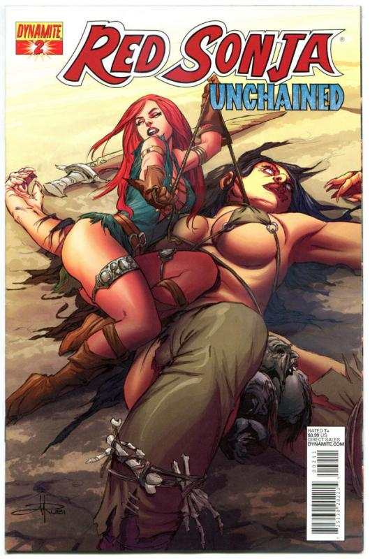 RED SONJA Unchained #2, NM, Robert E Howard, 2013, more RS in store, Sword