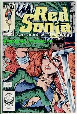 RED SONJA #4, VF/NM, She-Devil with Sword, Ernie Chan,1983, more RS in store