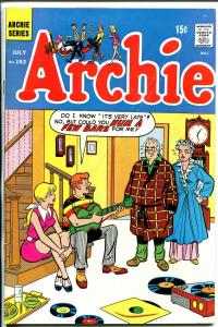 Archie #194 1969-guitar and record albums-Betty-Veronica-FN-
