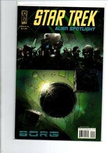 Star Trek Spotlight Borg #1 B Variant - IDW - Near Mint