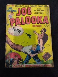 Joe Palooka #15 FIRST HUMPHREY APPEARANCE 1947 Low Grade Copy