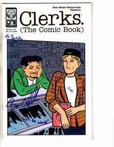 Clerks The Comic Book # 1 VF/NM SIGNED By Brian O'Halloran Oni Press  J267