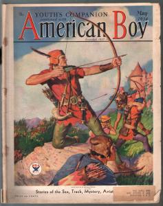American Boy 5/1934-William F Soare-Carl Hubbell-pulp fiction-G
