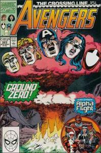 Marvel THE AVENGERS (1963 Series) #323 VF
