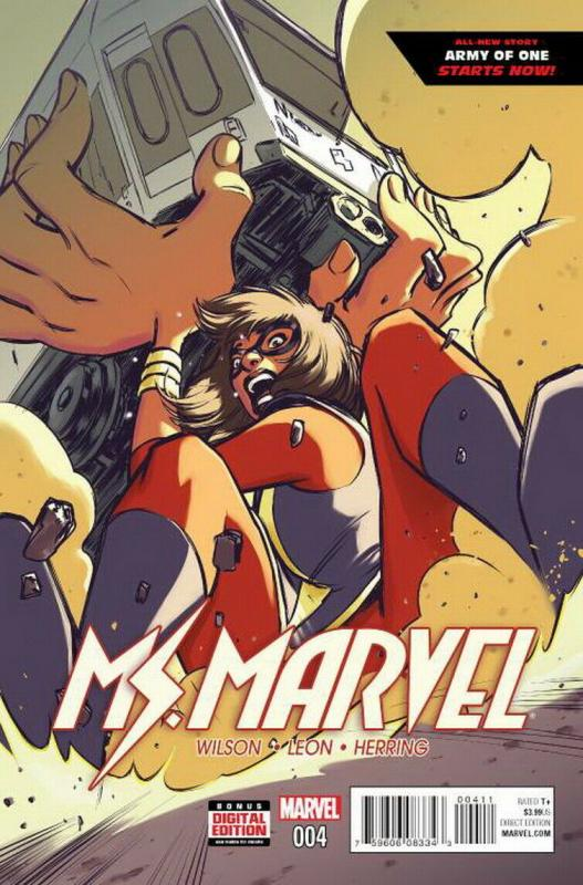MS MARVEL (2015 MARVEL) #4 NM- A76068
