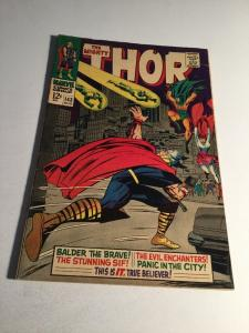 Thor 143 Vg/Fn Very Good/Fine 5.0 Marvel Comics Silver Age