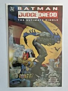 Batman Judge Dredd The Ultimate Riddle #1 - 8.0 - 1995