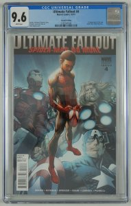 Ultimate Fallout #4 CGC 9.6 2nd print 1st appearance Spider-Man (Miles Morales)