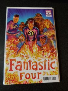 Fantastic Four #1 Alex Ross Variant 1:50 Marvel 2018 VF/NM