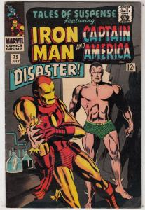 Tales of Suspense #79 (Jul-66) FN- Mid-Grade Iron Man, Captain America