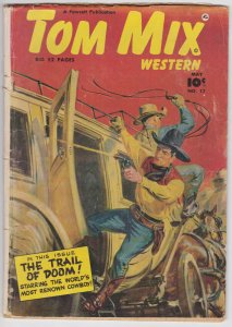 Tom Mix Western #17 (May  1949) 3.0 GD/VG Fawcett Comic