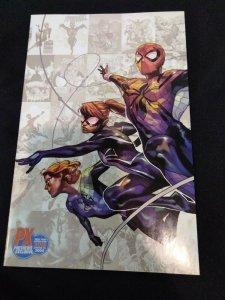 Spider-Girls #1 PX NYCC Exclusive! Virgin Variant Limited to 3000 Spider-Geddon