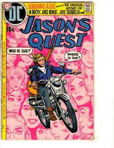 Showcase # 88 FN DC Comic Book Jason's Quest Boy & Bike JL17