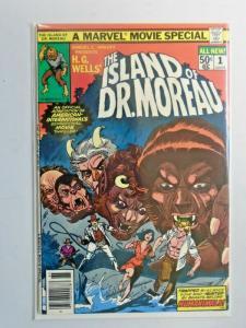 Island of Dr. Moreau #1 6.0 FN (1977)
