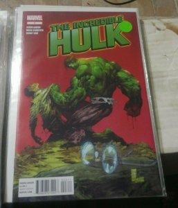 Incredible Hulk # 3 2012 marvel bruce banner hulk seperated  silvestri variant