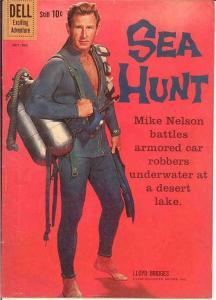 SEA HUNT 7 VG-F Oct.-Dec. 1960 Lloyd Bridges P/C COMICS BOOK