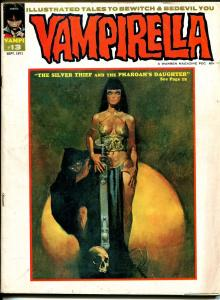 Vampirella #13 1971-Warren-horror-skull cover-VG