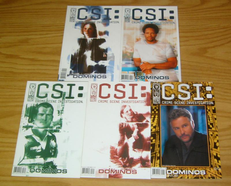 CSI: Dominos #1-5 VF/NM complete series based tv show crime scene investigation