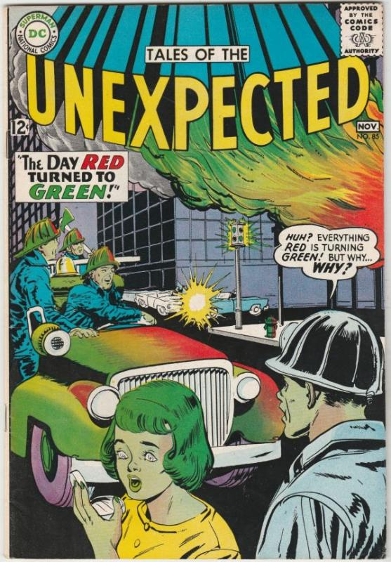 Tales of the Unexpected #85 (Nov-64) VF/NM High-Grade