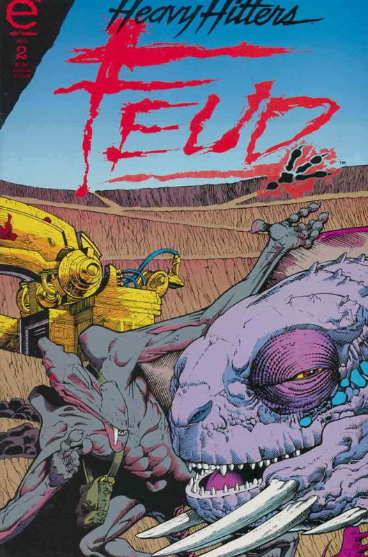 Feud #2 VF/NM; Epic | save on shipping - details inside