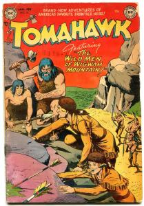 Tomahawk #15 1953- DC Western - Golden Age- Cave man cover G
