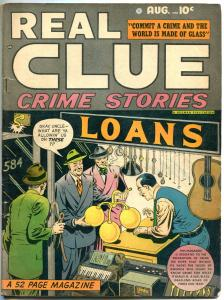 REAL CLUE CRIME STORIES V3 #6, VG/VG+, 1947, Golden Age, Pre-code, more in store