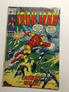 Iron Man 40 Fine Fn 6.0 Marvel
