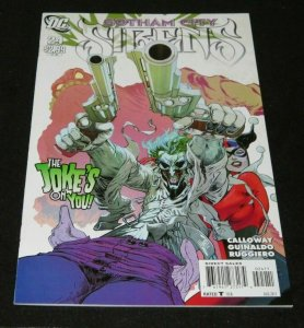 Gotham City Sirens #24 NM High Grade Poison Ivy Joker Harley Quinn Catwoman 2011