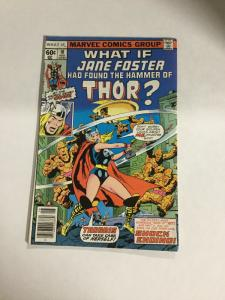 What If? 10 Fn/Vf Fine/Very Fine 7.0 First Jane Foster As Thor