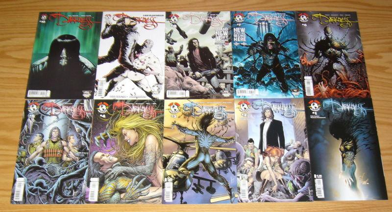 the Darkness vol. 3 #1-10 VF/NM complete series - all A variants - phil hester