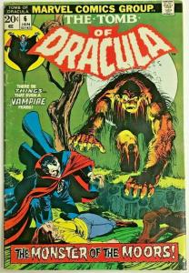 TOMB OF DRACULA#6 VG/FN 1973 MARVEL BRONZE AGE COMICS