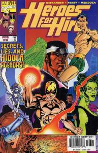 HEROES FOR HIRE (1997 MARVEL) #8 NM- AGSQCS