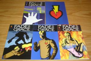 Fade From Grace #1-5 VF/NM complete series - beckett comics -  jeff amano 2 3 4