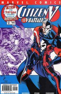Citizen V and the V-Battalion #2 FN; Marvel | save on shipping - details inside