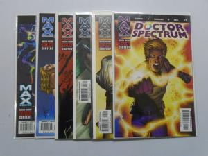 Doctor Spectrum (2004) #1-6 Set - 8.0 VF - 2004